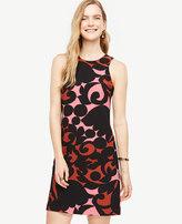 Ann Taylor Petite Tulip Halter Shift Dress