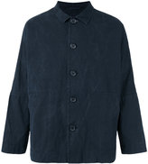 Casey Casey - washed wax jacket - men - Cotton - XS