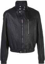 Rick Owens Biker Leather Jacket