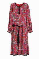Andrew Gn Printed Midi Dress