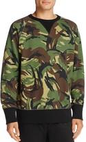 Rag & Bone Raglan Camouflage Sweatshirt