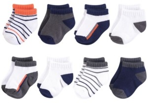Yoga Sprout Baby Vision 0-24 Months Unisex Baby Socks, 8-Pack