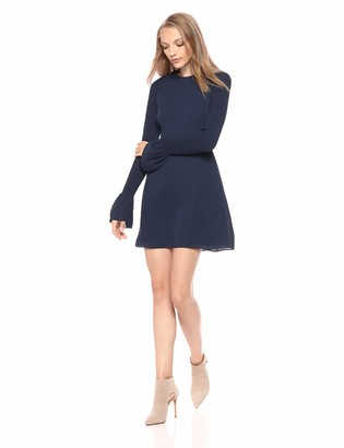 LIKELY Women's Victoria Smocked Sleeve Mini Day Cocktail Dress