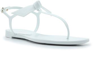 Alexandre Birman Clarita Jelly Knot Thong Sandals