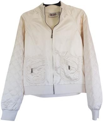 Bill Blass White Cotton Jacket for Women