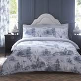 Kaleidoscope Chinoiserie Grey Duvet Cover & Standard Pillowcase Set