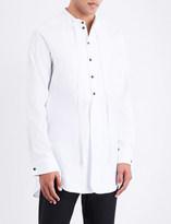 Ann Demeulemeester Longline loose-fit cotton shirt