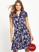Joe Browns Pretty Tie Summer Dress - Navy