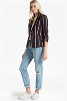 French Connection Freddy Stripe Single Breast Blazer