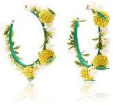 Mercedes Salazar Limones en Aro Earrings