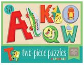 Two-Piece Alphabet Puzzle by Kathy Ireland