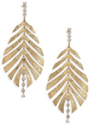 Hueb Bahia Diamond & 18K Yellow Gold Drop Earrings