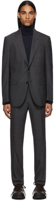 Ermenegildo Zegna Grey Wool Milano Easy Suit