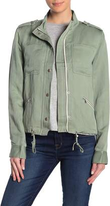 Paige Ryland Twill Zip Jacket