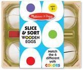 Melissa & Doug Slice & Sort Wooden Eggs