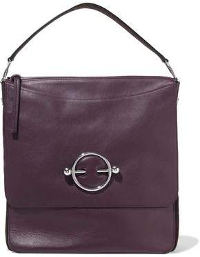 J.W.Anderson Disc Hobo Leather And Suede Shoulder Bag