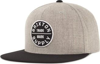 Brixton Men's Oath III Medium Profile Adjustable Snapback Hat