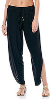 Laundry by Shelli Segal Draped Coverup Pants