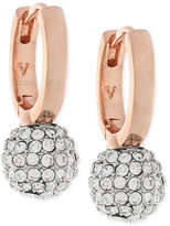 Vince Camuto Pavé Sphere Huggy Hoop Earrings