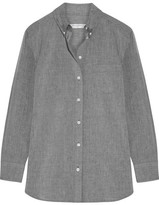 Equipment Margaux Cotton-chambray Shirt - Gray