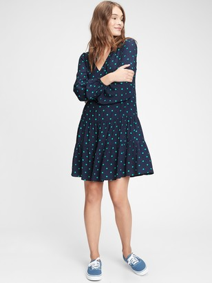 Gap Tiered Mini Dress
