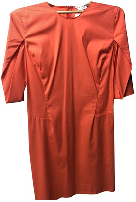 Vionnet Orange Polyester Dresses