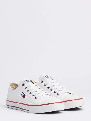 Tommy Hilfiger Leather City Trainers