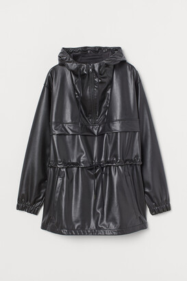 H&M Faux Leather Anorak
