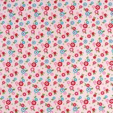 SheetWorld Fitted Pack N Play Sheet - Mini Floral Pink - Made In USA - 29.5 inches x 42 inches (74.9 cm x 106.7 cm)