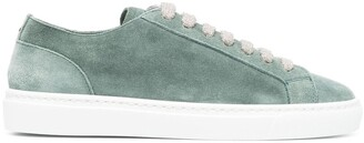 Doucal's Smooth Lace-Up Sneakers