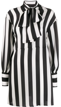 MSGM Striped Shirt Dress
