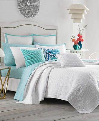 Trina Turk Palm Desert Ladybug Orange Twin Quilt Set Bedding