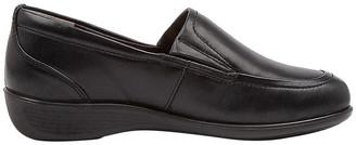 Supersoft By Diana Ferrari Phantom2 Black Flat Shoes