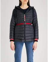 Moncler Benitoite hooded shell-down jacket