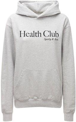 Sporty & Rich Health Club Sweatshirt Hoodie