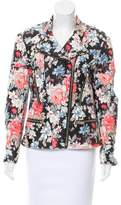Celine Floral Leather Jacket