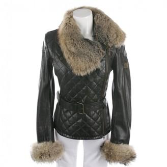 Belstaff Brown Leather Jacket for Women