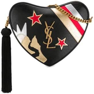 Saint Laurent heart-shaped shoulder bag