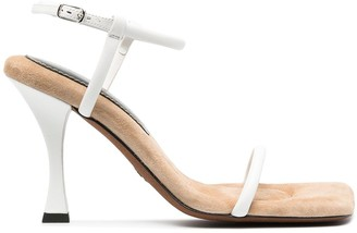 Proenza Schouler Square Padded Sandals
