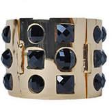 PeepToe Style Gem Bracelet Jet