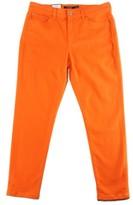 Lauren Ralph Lauren Womens Cropped Denim Colored Skinny Jeans