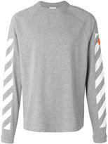 Moncler sleeve panel sweatshirt - men - Cotton - M