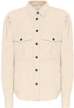 Etoile Isabel Marant Florrie wool-blend shirt