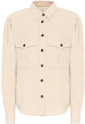 Isabel Marant Isabel Marant, ãToile Florrie wool-blend shirt