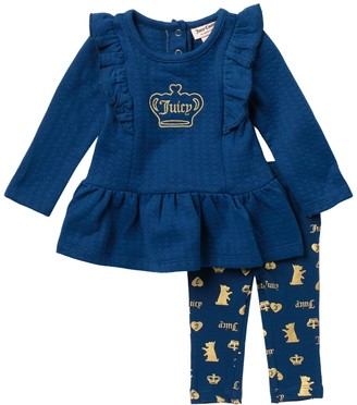 Juicy Couture Tunic & Leggings Set (Baby Girls 3-9M)