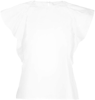 Jason Wu Collection Ruffle Detail Blouse