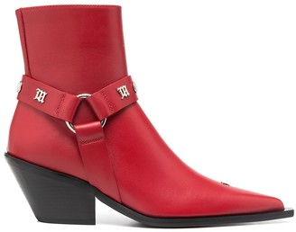 Misbhv Strapped Ankle Boots