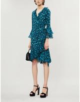 Diane von Furstenberg Carli leopard-print silk-jersey wrap dress