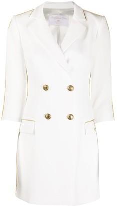 Elisabetta Franchi Gold-Tone Trim Dress