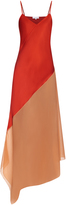Jonathan Saunders Connie hammered-satin dress